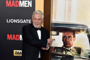 Robert Morse AMC Celebrates 'Mad Men' With The Black & Red Ball - Red Carpet