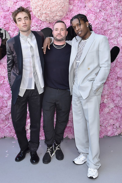 ff2c04de Robert Pattinson and ASAP Rocky Photos»Photostream · Pictures · Dior Homme:  Photocall - Paris Fashion Week - Menswear Spring/Summer 2019
