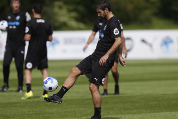Robert Pires Soccer Aid For UNICEF Media Access