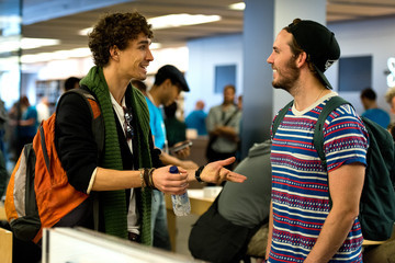 Robert Sheehan iPhone 6 and iPhone 6 Plus Launch
