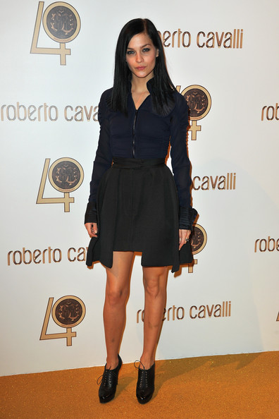 Leigh Lezark attends the Roberto Cavalli party at Les Beaux-Arts de Paris as part of the Paris Fashion Week Ready To Wear S/S 2011 on September 29, 2010 in Paris, France.