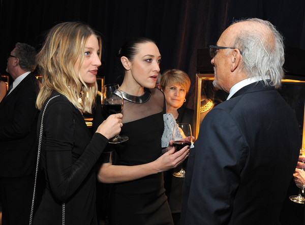 The Hollywood Reporter's 4th Annual Nominees Night - Inside [the hollywood reporter,event,fashion,formal wear,conversation,suit,nominees,jewelry designer,janell shirtcliff,dj mia moretti,beverly hills,california,hollywood reporter,roberto coin,l]