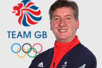 Robin Cousins Team GB Kitting Out in Stockport