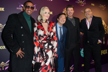 Robin Thicke Fox's 'The Masked Singer' Premiere Karaoke Event - Red Carpet