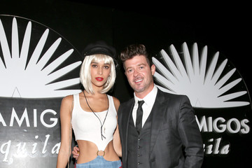 Robin Thicke Celebs Attend the Casamigos Tequila Halloween Party
