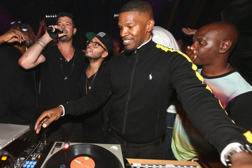 Robin Thicke Richie Akiva's Birthday Celebration