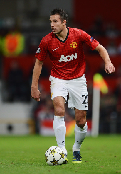 Robin Van Persie - Manchester United v Galatasaray - UEFA Champions League