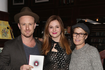 Robin Wright Amber Tamblyn 'Dark Sparkler' Book Release Party