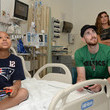 Robyn Hayward Gordon And Robyn Hayward Visit Patients To Celebrate Extra Life For Boston Children's Hospital
