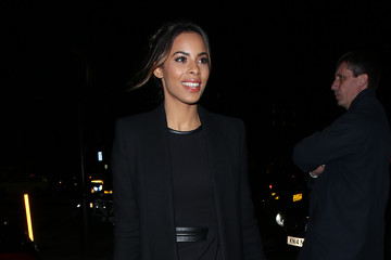 Rochelle Humes Celebrity Sightings at Sexy Fish