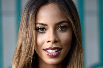 Rochelle Humes Front Row & Arrivals: Day 2 - LFW SS16