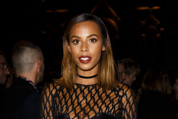 Rochelle Humes Front Row & Celebrities: Day 2 - LFW AW16