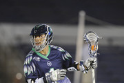 Joe Walters #1 of the Chesapeake Bayhawks runs with the ball during a MLL lacrosse game against the Rochester Rattlers at Navy-Marine Corps Memorial Stadium on May 30, 2015 in Annapolis, Maryland.  The Rattlers won 15-11.