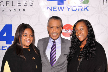 Ashley Sharpton Rockefeller Center Christmas Tree Lighting Party