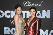 """Siran Manoukian and Sara Sampaio attend the """"Rocketman"""" Gala Party during the 72nd annual Cannes Film Festival on May 16, 2019 in Cannes, France."""