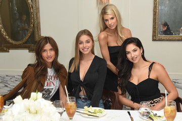 Rocky Barnes Charlotte McKinney x Wolf & Whistle Lingerie Collection Launch