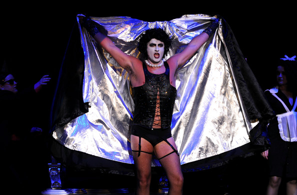 (EXCLUSIVE COVERAGE)  Actor Julian McMahon performs onstage during The Rocky Horror Picture Show 35th anniversary to benefit The Painted Turtle at The Wiltern on October 28, 2010 in Los Angeles, California.