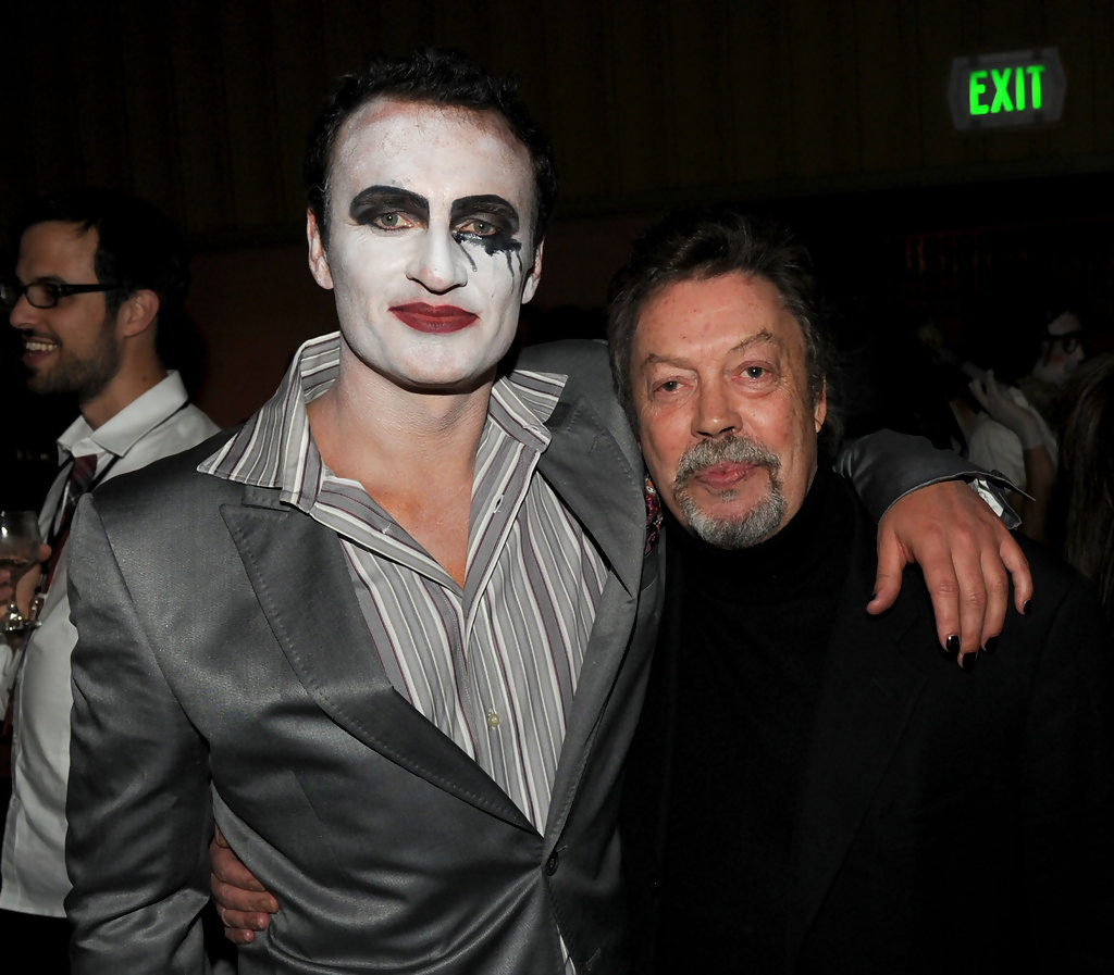 Julian Mcmahon Tim Curry Julian Mcmahon And Tim Curry