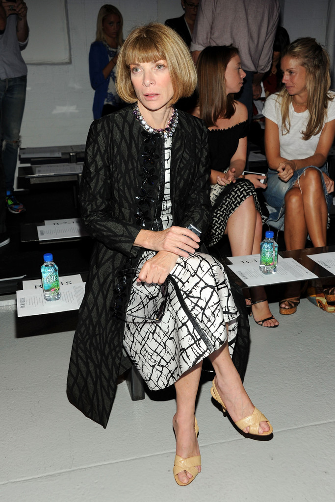 Anna Wintour In Mbfw Front Row At Rodarte Zimbio
