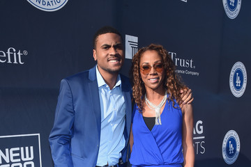 Rodney Peete Holly Robinson Peete Fourth Annual Los Angeles Dodgers Foundation Blue Diamond Gala