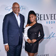 Rodney Williams Belvedere Vodka x Janelle Monáe Celebrate The Launch Of 'A Beautiful Future' Limited Edition Bottle In New York