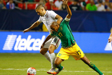 Rodolph Austin Jamaica v United States: Semifinals - 2015 CONCACAF Gold Cup
