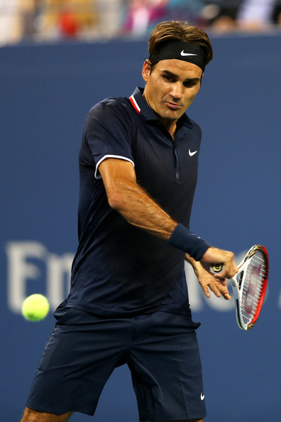 Roger Federer - 2012 US Open - Day 10