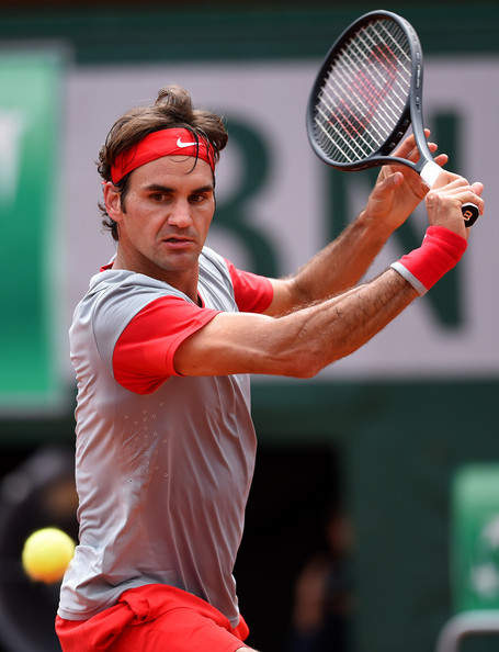 Roger+Federer+2014+French+Open+Day+One+9