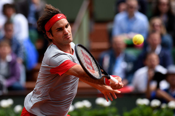 Roger Federer - 2014 French Open - Day One