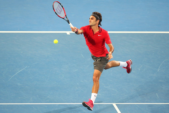 Roger+Federer+Brisbane+International+Day