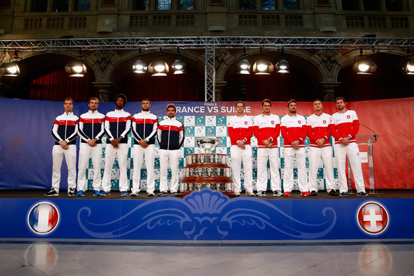 Roger Federer - France v Switzerland - Davis Cup World Group Final: Previews