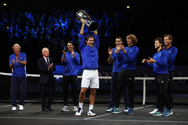 Roger Federer's Vision Comes True As Europe Wins The Laver Cup