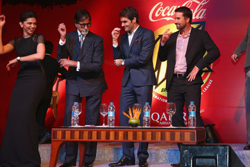 Roger Federer Coca-Cola International Premier Tennis League - India: Day Two