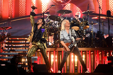 Roger Taylor Queen And Adam Lambert In Concert - New York, NY