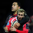 Roimata Hansell-Pune Gloucester Rugby  v  Oyonnax - European Rugby Challenge Cup