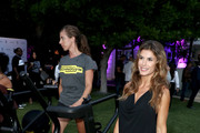 Elisabetta Canalis attends Rolls Royce X Technogym at the home of Gunnar Peterson on August 30, 2018 in Beverly Hills, California.