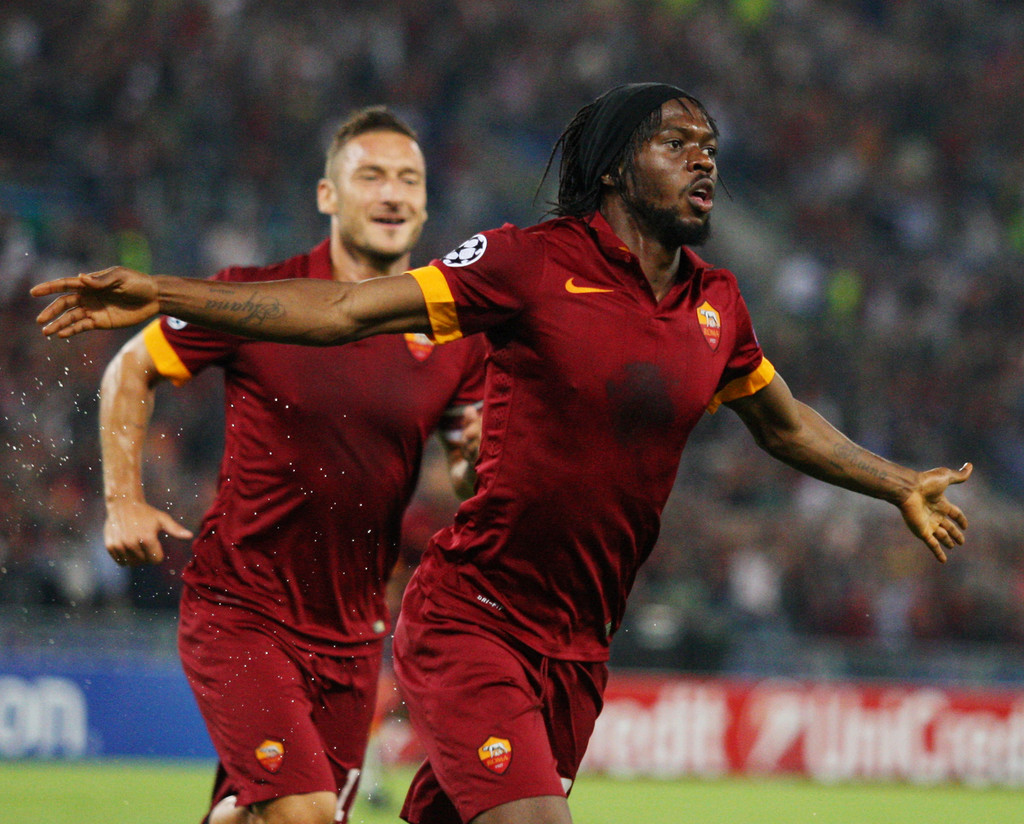 Gervinho in AS Roma v PFC CSKA Moskva Zimbio