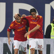 Luca Toni and Mirko Vucinic
