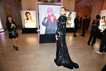 """Romee Strijd Harper's BAZAAR Celebrates """"ICONS By Carine Roitfeld"""" At The Plaza Hotel Presented By Infor, Estee Lauder, Saks Fifth Avenue, Fujifilm Instax, Genesis, And Stella Artois - Gallery"""