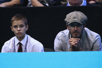 Romeo Beckham Day Five - Barclays ATP World Tour Finals