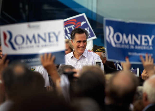 Romney Campaigns In Florida On Final Weekend Before Primary