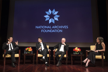 Ron Chernow National Archives Foundation Honors 'Hamilton's' Lin-Manuel Miranda, Thomas Kail & Ron Chernow
