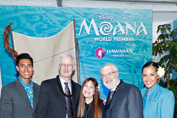 Ron Clements Hawaiian Airlines at the World Premiere of Disney's 'Moana'