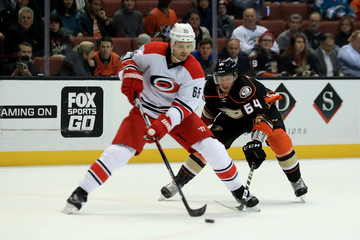 Ron Hainsey Carolina Hurricanes v Anaheim Ducks