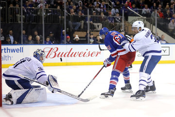 Ron Hainsey Toronto Maple Leafs v New York Rangers