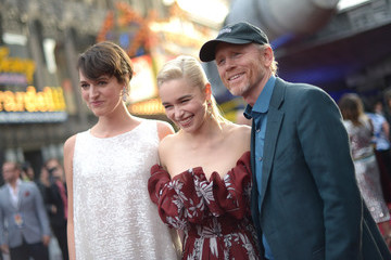 Ron Howard Emilia Clarke Stars And Filmmakers Attend The World Premiere Of 'Solo: A Star Wars Story' In Hollywood