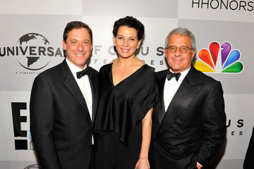 Ron Meyer Adam Fogelson NBCUniversal Golden Globes Viewing And After Party - Red Carpet