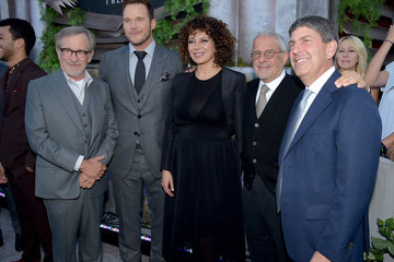 Ron Meyer Donna Langley Premiere Of Universal Pictures And Amblin Entertainment's 'Jurassic World: Fallen Kingdom' - Red Carpet