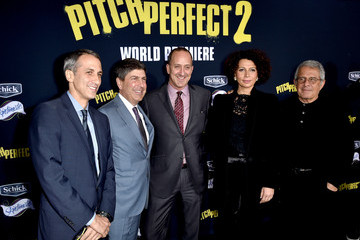 Ron Meyer Jeff Shell Premiere Of Universal Pictures' 'Pitch Perfect 2' - Red Carpet