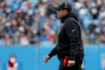 Ron Rivera Tampa Bay Buccaneers v Carolina Panthers